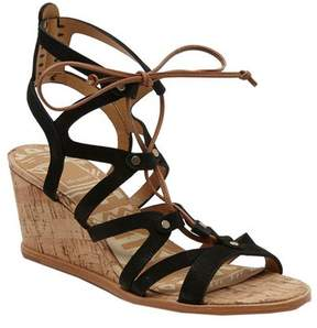 Dolce Vita Women's Lynnie Ghillie Lace Wedge Sandal