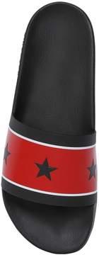 Givenchy Slide Stars Rubber Flat Sandals
