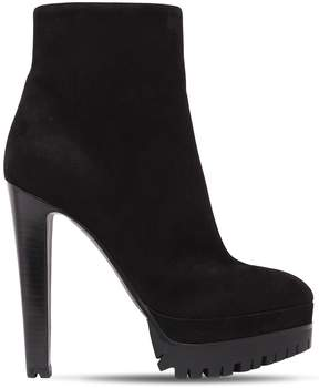 Sergio Rossi 130mm Suede Ankle Boots