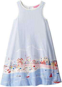 Joules Kids Printed Woven Dress Girl's Dress