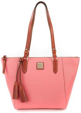 Dooney & Bourke Maxine Tasseled Pebble Tote - BUBBLE GUM - STYLE