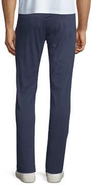Karl Lagerfeld Paneled Stretch-Cotton Chino Pants