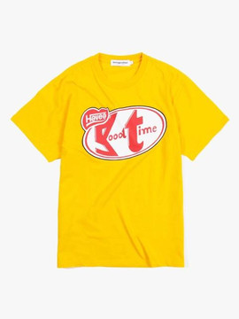 Have A Good Time Have a Break Tee - Mustard
