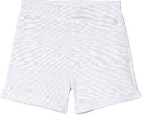 Joules Pale Blue Stripe Jersey Shorts