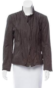 Tahari Embroidered Pleated Jacket
