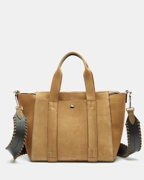 Theory Small Standard Tote in Nubuck Leather