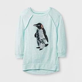 Miss Chievous Girls' 3/4 Sleeve Sweatshirt - Mint