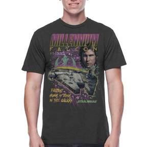 Star Wars Movies & TV Big Men's millennium racer graphic tee, 2xl