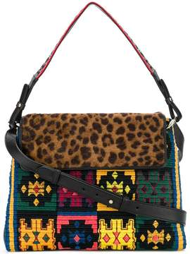 Etro multi-print shoulder bag
