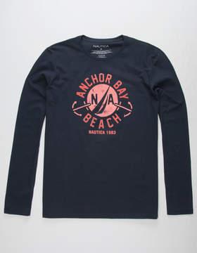 Nautica Anchor Bay Beach Mens T-Shirt