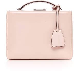 Mark Cross Brush Off Grace Small Leather Box Bag