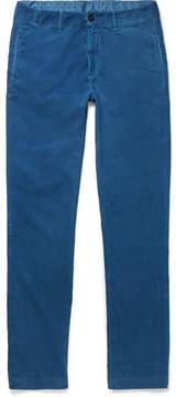 Massimo Alba Slim-Fit Cotton-Corduroy Trousers