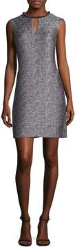 Donna Ricco Women's Metallic Shift Dress