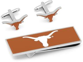 Ice U of Texas Longhorns Cufflinks and Money Clip Gift Set