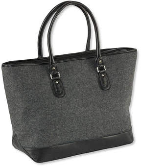 L.L. Bean Exchange Street Wool Tote