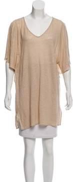 Calypso Sleeveless Linen Top