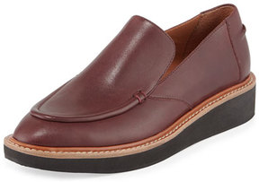 Derek Lam 10 Crosby Dana Leather Platform Slip-On, Oxblood