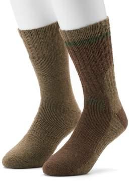 Gold Toe GOLDTOE Men's GOLDTOE PowerSox 2-pack Wool-Blend Crew Socks