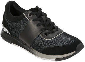Foot Petals Black Blair Leather Sneaker - Women