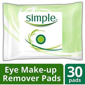 Simple Eye Makeup Remover Pads