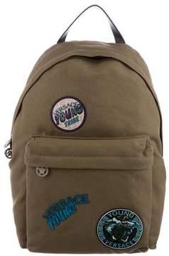 Versace Boys' Trésors Patch Backpack w/ Tags