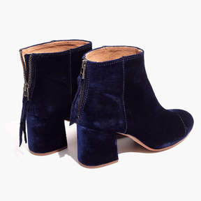 Madewell The Jillian Boot in Velvet