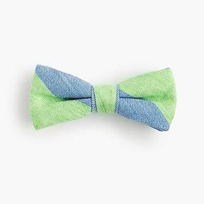 J.Crew Boys' striped linen-cotton bow tie