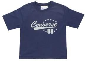 Converse Big Distressed Logo Kids Shirt Blue S