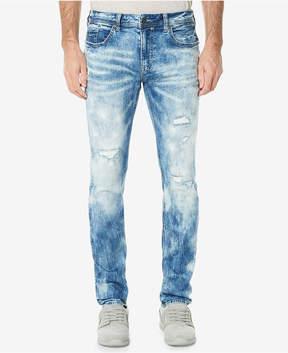 Buffalo David Bitton Men's Evan-x Sanded Slim Straight Fit Stretch Jeans