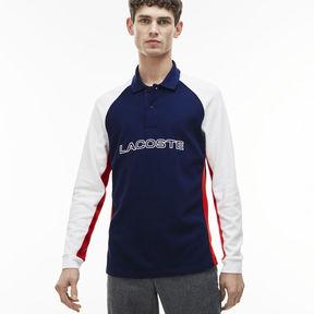 Lacoste Men's Regular Fit Colorblock Piqu Polo