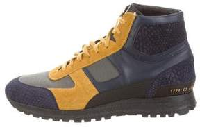 Common Projects Robert Geller x R.G. Track High-Top Sneakers