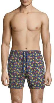 Luciano Barbera Multicolor Swim Short