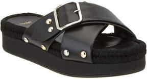 Maje Flyope Leather Sandal