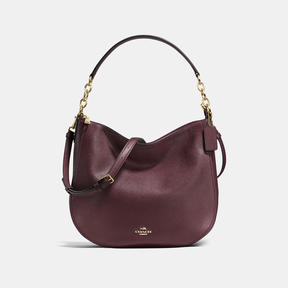 COACH Coach Chelsea Hobo 32 - LIGHT GOLD/OXBLOOD - STYLE