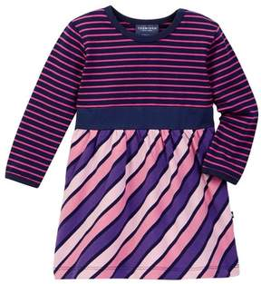 Toobydoo Multi-Striped Dress (Baby & Toddler Girls)