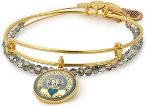 Alex and Ani Claddagh Art Infusion Set of 2
