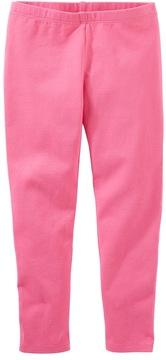 Osh Kosh Toddler Girl Solid Pink Leggings