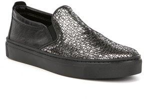 The Flexx Full Time Metallic Leather Sneakers