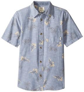 Vans Kids Salado Short Sleeve Woven Shirt (Big Kids)