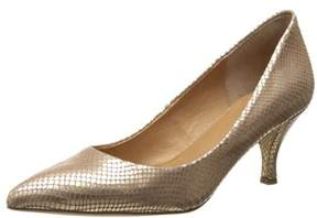 Corso Como Womens Penny Leather Pointed Toe Classic Pumps.