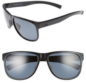 adidas Women's Sprung 60Mm Sunglasses - Shiny Black/ Grey Polar
