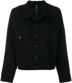 Barbara I Gongini oversized denim jacket