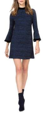 Donna Morgan Heathered Shift Dress