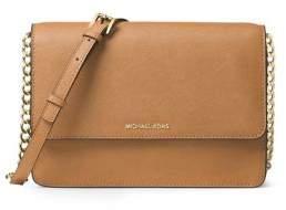 MICHAEL Michael Kors Large Gusset Leather Crossbody Bag