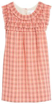 Burberry Magnoly Check Ruffle Dress