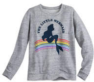 Disney Ariel Pullover Fashion Sweatshirt for Juniors