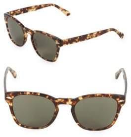 Zac Posen Guerrino 50MM Square Sunglasses