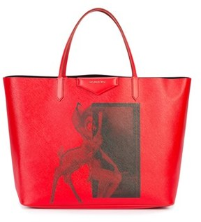 Givenchy Women's Red Cotton Tote.