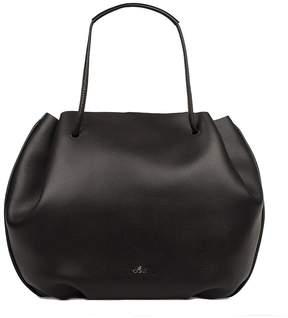 Hogan Black/bluette Hammered Leather Shoulder Bag