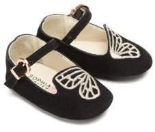 Sophia Webster Baby's Mini Bibi Butterfly Suede Flats